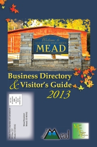 Mead Chamber and Town directory  |  28 pages